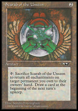 MTG SCARAB OF THE UNSEEN SCARABEO DELL'INVISIBILE