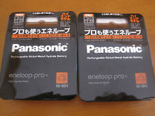 Sanyo Panasonic Eneloop Pro 2450mAh Rechargeabl Battery AA x 8pcs From Japan