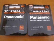 Sanyo Panasonic Eneloop Pro 2450mAh Rechargeabl Battery AA x 8pcs From Japan