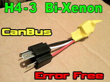 H4-3 Bi Xenon Canbus Error RESISTORS WARNING CANCELLER FREE Car Bulbs Harness .
