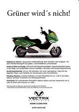 Vectrix  - VX-1 - Prospekt  - Deutsch -  nl-Versandhandel