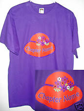 2X OR 3X PERSONALIZED CHAPTER T-SHIRT FOR THE RED HAT LADIES OF SOCIETY