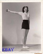 Anne Gwynne busty leggy VINTAGE Photo circa 1942