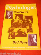 THE PSYCHOLOGIST - GOOD NEWS BAD NEWS - APRIL 1994