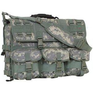 Green ACU Digital Camo MOLLE Tactical Military Laptop Briefcase Shoulder Bag