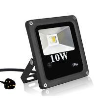 LED RGB Floodlight 10W IP66 Waterproof Security Garden Yard Warm Cool Daylight
