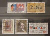 BRD Bund Briefmarken 1980 schönes kleines Lot gestempelt