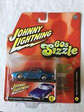 Johnny Lightning 60s Sizzle '67 Oldsmobile Toronado Blue w/ White Interior 1/64