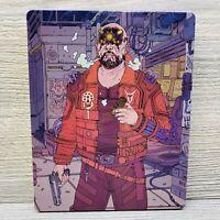 Cyberpunk 2077 Steelbook Metal Collectors Case No Game Steel Book Free Shipping