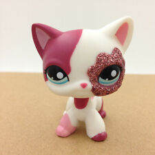 LPS #2291 Pet Shop Short Hair Cat Sparkle Kitty Doll Toy Gift For Children's Day