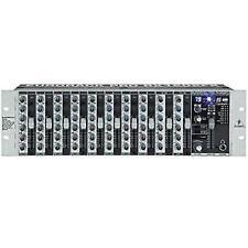 Behringer Eurorack RX1202FX 12 in Mic/line Rack Mixer 24 Bit Effects FX Pre Amp