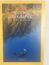 National Geographic February 2017 Saving Our Oceans Magazine: Nature, Geography
