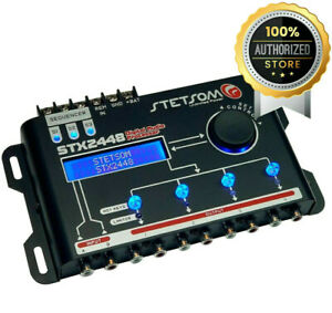 Stetsom DSP STX2448 Digital Audio Equalizer Processor Car Audio Sequencer NEW