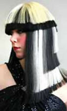 """ Egyptian "" Wig Drag Queen Cosplay Halloween Stripper Gaga Cruella Anime"