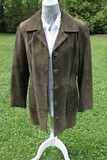Vintage FRYE Classic Rugged Genuine Leather Women's Coat/ Blazer M