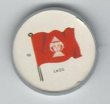 1963 General Mills Flags of the World Premium Coins #90 Laos