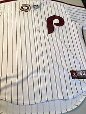 NWT MEN'S PHILADELPHIA PHILLIES 1980'S COOPERSTOWN COLLECTION WHITE MLB JERSEY