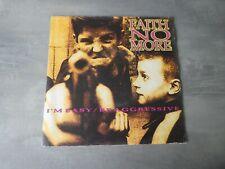 Faith No More – I'm Easy / Be Aggressive red vinyl 7 inch vinyl