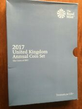More details for royal mint: 2017 uncirculated annual coin set in a presentation pack - nice!