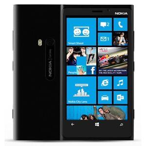 A Grade Nokia Lumia 920 - 4.5 inch screen Black Unlocked Smartphone - Warranty