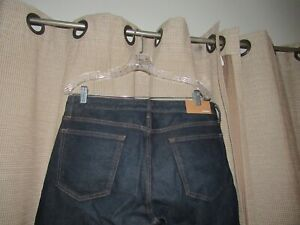 NWOT New BONOBOS Mens 34 X 30 Organic Cotton Denim Jeans