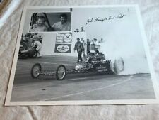Signed John Freight Train Peters Dragster PHOTO N 22