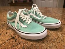 New Vans Skate Shoes Green with stripe M 6 W 7.5  751505