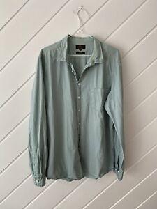 Rodd & Gunn - Men's Mint Green Casual Shirt - Size XL.