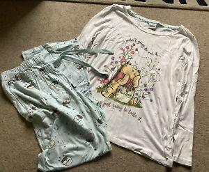 Sainsburys TU, Disney Winnie The Pooh, Pyjamas Set, Size 12