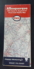 1966 Albuquerque street  map ENCO  oil gas oil New Mexico Santa Fe