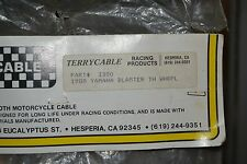 "NOS Terrycable Yamaha ""Whirlpull"" Throttle Cable #3380 88' Blaster"