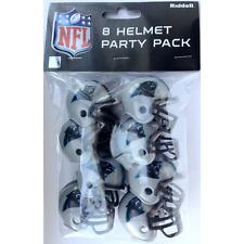 CAROLINA PANTHERS NFL Cupcake / Cake Topper Mini Football Helmets (8 ct.)