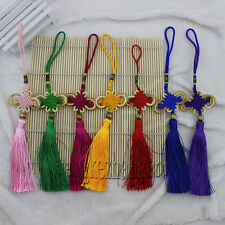 Wholesale 10pcs Embroidery Chinese Knot Tassels Pendant For Home Decor