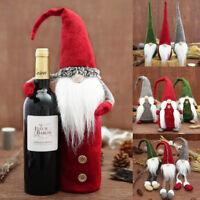 Christmas Santa Claus Doll Toy Christmas Table Ornaments Xmas Home Decoration