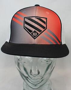 Wilson Homeplate Flexfit Mesh/Trucker Baseball Hat/Cap