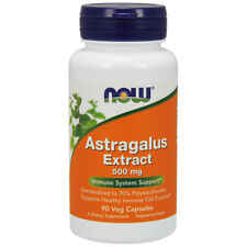 Astragalus Extract, 500mg x 90 Veg Capsules - NOW Foods