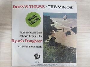 Single / Maurice Jarre ?– Rosy's Theme / 1970 / RAR /