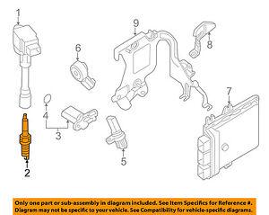 NISSAN OEM Ignition-Spark Plug 22401EW61C