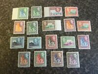 ST VINCENT POSTAGE STAMPS SG164-177 INC A No.'s (NO 167A) UN-MOUNTED MINT