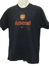 "Ne Vintage Nike Club de Fútbol Arsenal ""a"" Camiseta Algodón Azul Marino Mediano"