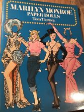 """MARILYN MONROE 1979 PAPER DOLLS Uncut from the Library of Congress """"4/11/79"""""""