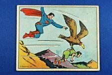 1940 Superman Gum, Inc. - #43 - Flight In Mid-Air - VG Condition