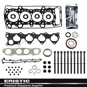 Fits 00-07 Honda S2000 2.2L L4 VTEC DOHC Full Head Gasket w/ Bolts F20C1 F22C1