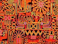 Photography Composition Peruvian Blanket Inca Design Sun Canvas Art Print