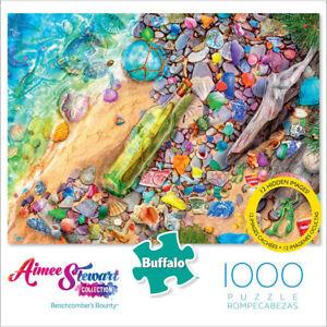 Buffalo Games Jigsaw Puzzles 1000 Pieces, Aimee Stewart, Beachcombers