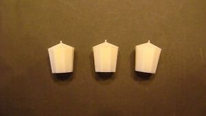 Lionel 71 Lamp Post Covers, (pkg. of 3)