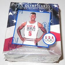 1992 Impel US Olympicards Hopefuls 36-Pack Box Brand New & Sealed Look for MJ