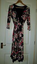 Women's Patterned Wrap Dresses by Bonnarche size 16 uk