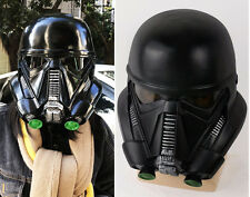 Star Wars Rogue One: A Star Wars Story Deathtrooper Black Helmet Halloween Mask