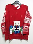 NEW Notations Women's Plus Size Ugly Gift Hugger Christmas Sweater 1X